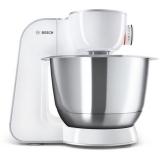 Bosch CreationLine MUM58224 stříbrný/bílý + dárek