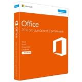 Microsoft Office 2016 CZ pro domácnosti a podnikatele