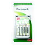 Panasonic BQ-CC55 Smart Quick pro AA,AAA + 4x AA, 1900 mAh