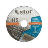 EXTOL CRAFT na kov, 5ks, 115x1,0x22,2mm