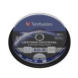 Verbatim Printable BD-R M-Disc 25GB, 4x, 10-cake