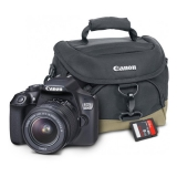 Canon EOS 1300D + 18-55 mm DC III černý Starter Kit černý