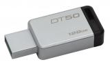 Kingston DataTraveler 50 128GB černý/kovový