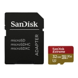 Sandisk Micro SDHC Extreme AC 32GB UHS-I U3 (90R/45W) + adapter