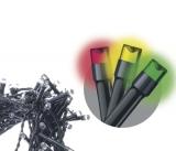 EMOS 200 LED, 10m, řetěz, multicolor