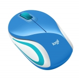 Logitech Wireless Mini Mouse M187 modrá