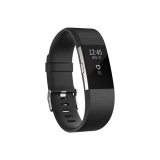 Fitbit Charge 2 large - Black Silver