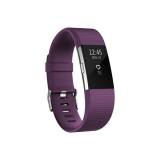 Fitbit Charge 2 large - Plum Silver