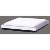EMOS čtverec, 340 x 340 mm, 38W, 2300 lm stříbrné
