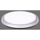 EMOS kruh, 300 x 41 mm, 38W, 2200 lm stříbrné