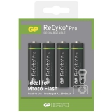 GP ReCyko+ Pro Photo & Flash AA, HR06, 2600mAh, Ni-MH, krabička 4ks