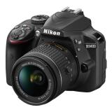 Nikon D3400 + AF-P 18-55 VR + 4x čištění čipu zdarma černý