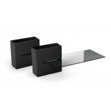 Meliconi GHOST CUBE Shelf černý