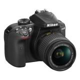 Nikon D3400 + AF-P 18-55 NON VR + 4x čištění čipu zdarma černý