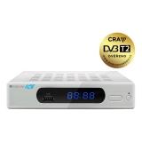 Zircon ICE s DVB-T2 s HEVC (H.265) bílý