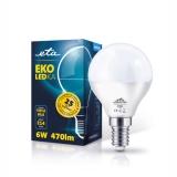 ETA EKO LEDka mini globe, 6W, E14, teplá bílá