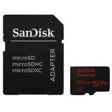 Sandisk Micro SDXC Extreme AC 128GB UHS-I U3 V30 (90R/60W) + adapter černá