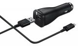 Samsung EP-LN915C, 1x USB, 2A, s funkcí rychlonabíjení + USB-C kabel černý
