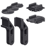 SP Connect Adhesive & Adapter Kit černý
