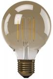 Žárovka LED EMOS Vintage G95, 4W, E27, teplá bílá