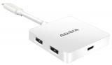 ADATA USB-C / 1x USB-C + 2x USB 3.0 + HDMI bílý