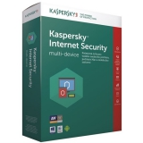 Kaspersky Internet Security multi-device 2017 CZ, 1 zařízení, 1 rok, nová licence, box + 3 měsíce navíc zdarma