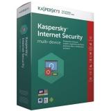 Kaspersky Internet Security multi-device 2017 CZ, 3 zařízení, 1 rok, nová licence, box + 3 měsíce navíc zdarma