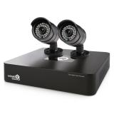 iGET HOMEGUARD HGDVK46702 - 4-kanálový HD rekordér DVR + 2x barevná venkovní HD kamera 720p