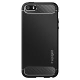 Spigen Rugged Armor Apple iPhone 5/5s/SE černý