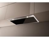Faber INCA LUX GLASS EV8 X/BK A70 černý/nerez/sklo