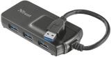 Trust USB 3.0 / 4x USB 3.0 černý