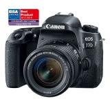 Canon EOS 77D + 18-55 IS STM černý