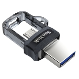 Sandisk Ultra Dual m3.0 16GB OTG MicroUSB/USB 3.0 černý