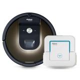 iRobot Roomba 980 + Braava jet 240 Zdarma bílý/hnědý