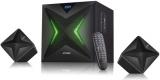 Fenda F&D F550X 2.1, bluetooth, rádio, USB, SD, dálkové ovládání černé