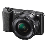 Sony Alpha A5100 + objektiv 16-50mm černý