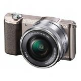 Sony Alpha A5100 + objektiv 16-50mm hnědý