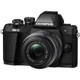 Olympus E-M10II 1442IIR černý + dárek
