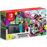 Nintendo Switch s Joy-Con - modro/ červená + Splatoon 2 červená/modrá