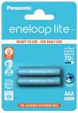Panasonic Eneloop Lite AAA, HR03, 550mAh, Ni-MH, blistr 2ks