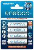 Panasonic Eneloop AA, HR06, 1900mAh, Ni-MH, blistr 4ks
