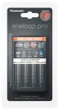 Panasonic Eneloop Smart-Quick Charger pro AA,AAA + 4x Panasonic Eneloop Pro 2500mAh černá