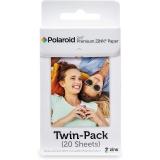 """Polaroid Zink Premium 2x3"""", 20 fotografií bílý"""