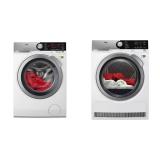 Set (Sušička prádla AEG AbsoluteCare® T8DEE48SC) + (Automatická pračka AEG ÖKOMix® L8FEC68SC)
