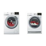 Set (Sušička prádla AEG AbsoluteCare® T8DEG48SC) + (Automatická pračka AEG ProSense™ L6FBG68SC)