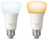 Philips Hue 9,5W, E27, White Ambiance (2ks)