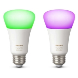 Philips Hue 10W, E27, White and Color Ambiance (2ks)