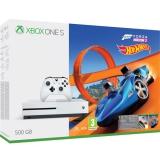 Microsoft Xbox One S 500 GB Forza Horizon 3 + rozšíření Forza Horizon 3 Hot Wheels + 14 denní Xbox LIVE GOLD + dárek