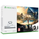 Microsoft Xbox One S 1 TB + Assassin's Creed: Origins + Rainbow Six: Siege; 14 denní Xbox LIVE GOLD