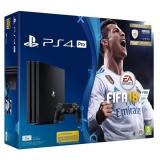 Sony PlayStation 4 PRO 1TB + FIFA18 + PS Plus 14 dní černá